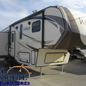 Wildcat 28 SGX 2016- LM Cossette- vr roulotte caravane fifth wheel travel trailer rv