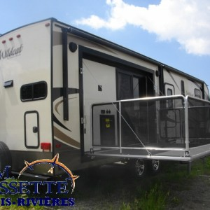 Wildcat 29 RKP 2016 - LM Cossette inc. vr roulotte fifth wheel caravane rv travel trailer