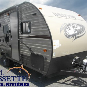 Wolf Pup 16 BHS 2017 - LM Cossette inc. vr roulotte fifth wheel caravane rv travel trailer