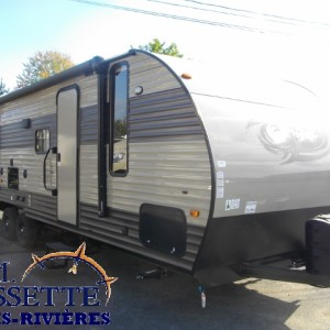 Grey Wolf 26 DBH 2017 - LM Cossette inc. vr roulotte fifth wheel caravane rv travel trailer