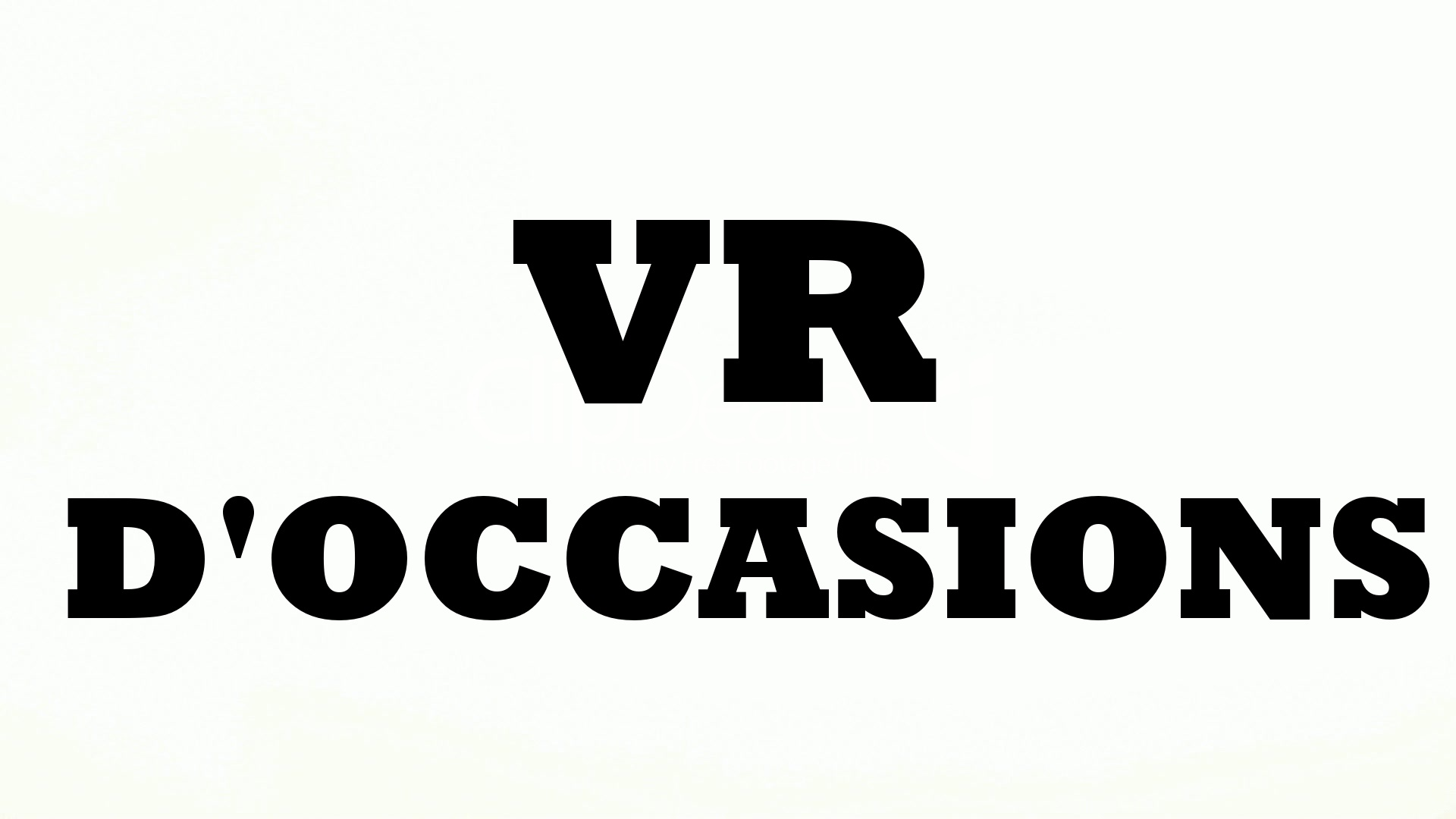 VR d'occasion - LM Cossette
