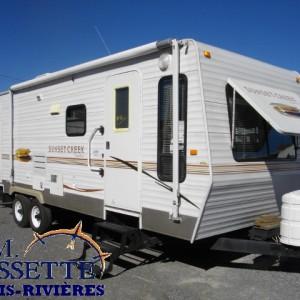 Sunset Creek 268 FL 2008 - LM Cossette inc. vr roulotte fifth wheel caravane rv travel trailer