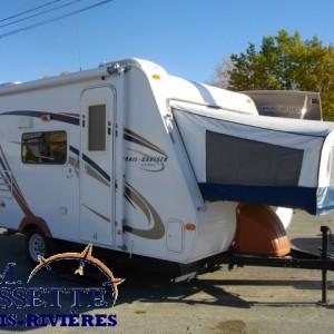 Trail Cruiser C-17 2009 - LM Cossette inc. vr roulotte fifth wheel caravane rv travel trailer