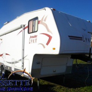 Prowler Lynx 275 RLS 2006 - LM Cossette inc. vr roulotte fifth wheel caravane rv travel trailer