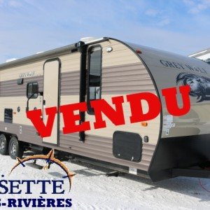 Grey Wolf 29 BH 2017 -LM Cossette inc. vr roulotte fifth wheel caravane rv travel trailer
