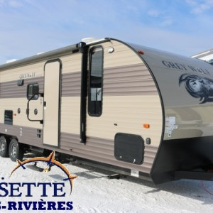 Grey Wolf 29 BH 2017 - LM Cossette inc. - vr roulotte fifth wheel caravane rv travel trailer