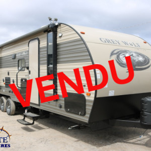 Grey Wolf 27 DBS 2018 -LM COSSETTE INC. vr roulotte fifth wheel caravane rv travel trailer - cherokee wolf pup arctic wolf apex nano kodiak