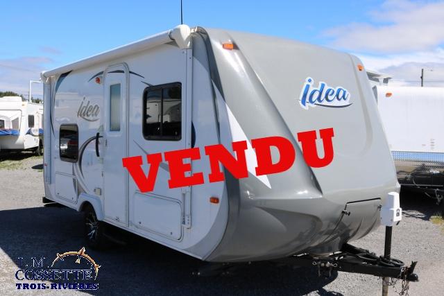 Idea I-17 2012 - LM Cossette inc. vr roulotte fifth wheel caravane rv travel trailer