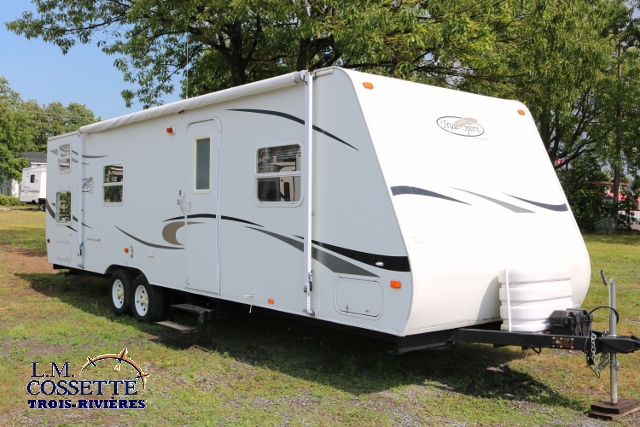 Trail Sport 27 FQ 2007 - LM Cossette inc. vr roulotte fifth wheel caravane rv travel trailer