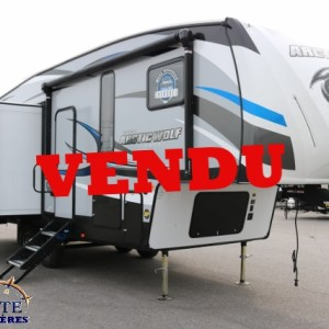 Arctic Wolf 285 DRL4 2018-LM Cossette inc vr roulotte fifth wheel caravane rv travel trailer