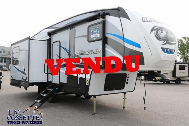 Arctic Wolf 285 DRL4 2018-LM Cossette inc vr roulotte fifth wheel caravane rv travel trailer
