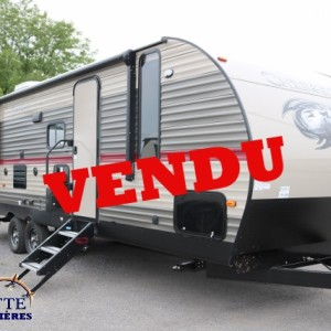 Cherokee 274 DBH 2018 -LM Cossette inc vr roulotte fifth wheel caravane rv travel trailer