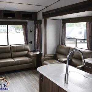 Arctic Wolf 285 DRL4 2018 - LM Cossette inc. vr roulotte fifth wheel caravane rv travel trailer