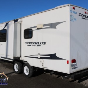 Streamlite 25 TSS 2010 - LM Cossette inc. vr roulotte fifth wheel caravane rv travel trailer