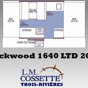 Rockwood 1640 LTD 2007 - LM Cossette inc. vr roulotte fifth wheel caravane rv travel trailer