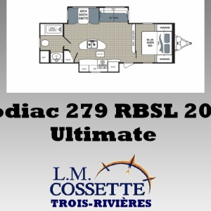 Kodiac Ultimate 279 RBSL 2018 - LM Cossette inc. vr roulotte fifth wheel caravane rv travel trailer