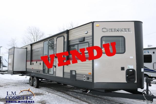 Cherokee 304 VFK 2018 -LM Cossette inc. vr roulotte fifth wheel caravane rv travel trailer