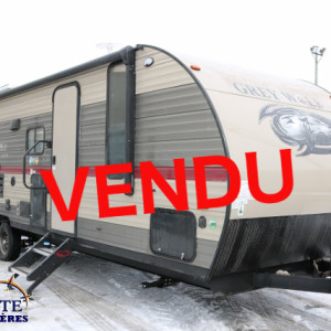 Grey Wolf 26 DBH 2018-LM Cossette inc. vr roulotte fifth wheel carvane rv travel trailer