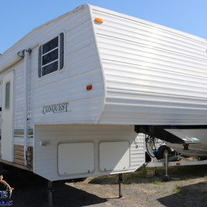 Conquest 23 FR 2004 - LM Cossette inc. vr roulotte fifth wheel caravane rv travel trailer