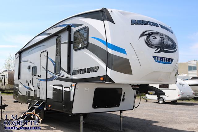 Arctic Wolf 255 DRL4 2019 - LM Cossette inc. vr roulotte fifth wheel caravane rv travel trailer