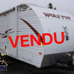 WOLF Pup 17 B 2011 -LM Cossette inc. vr roulotte fifth wheel caravane rv travel trailer