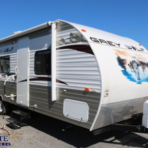 Grey Wolf 28 BHKS 2012 - LM Cossette inc. vr roulotte fifth wheel caravane rv travel trailer