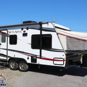 Solaire 163 X 2013 - LM Cossette inc. vr roulotte fifth wheel caravane rv travel trailer
