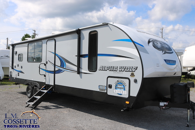Alpha Wolf 27 RK 2019 - LM Cossette inc. vr roulotte fifth wheel caravane rv travel trailer