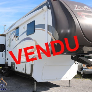 Infinity 3640 RL 2012- LM Cossette inc. vr roulotte fifth wheel caravane rv travel trailer