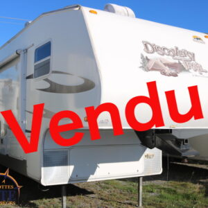 Discovery Trail 27 RL 2010 --LM Cossette inc. vr roulotte fifth wheel caravane rv travel trailer - cherokee grey wolf pup kodiak aspen trail arctic wolf alpha wolf cub apex nano roulotte a vendre trois-rivières