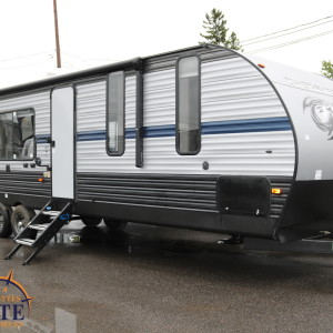 Cherokee 274 RK 2019 - LM Cossette inc. vr roulotte fifth wheel caravane rv travel trailer - grey wolf wolf pup apex nano kodiak