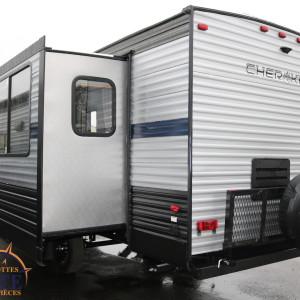 Cherokee 274 RK 2019 - LM Cossette inc. vr roulotte fifth wheel caravane rv travel trailer - grey wolf wolf pup apex nano kodiak