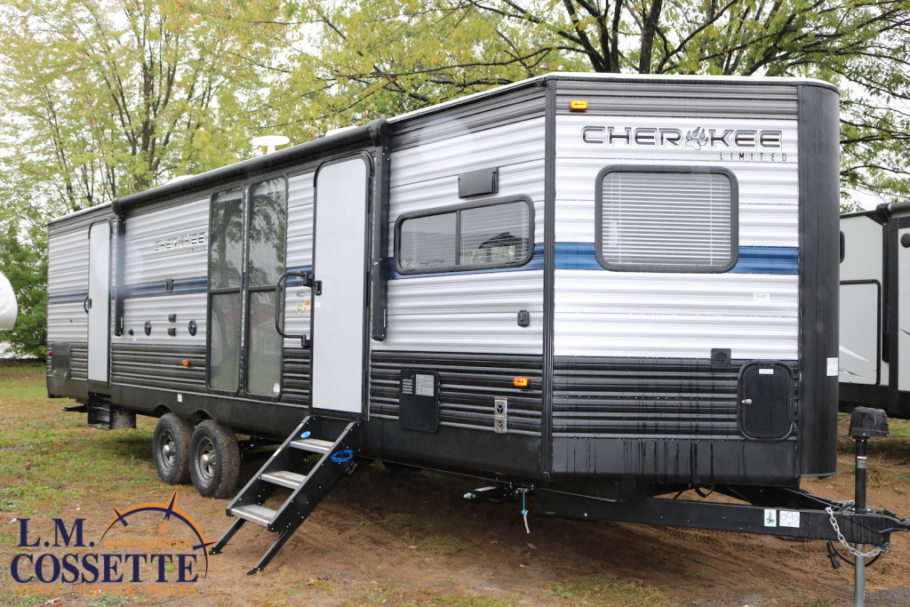 Cherokee 274 VFK 2019 - LM Cossette inc. vr roulotte fifth wheel caravane rv travel trailer - grey wolf pup arctic wolf kodiak apex nano
