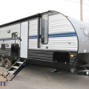 Cherokee 274 DBH 2019 - LM Cossette inc. vr roulotte fifth wheel caravane rv travel trailer grey wolf pup kodiak arctic wolf