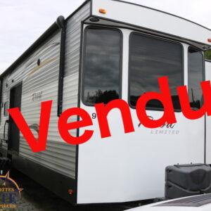 Resort-41-BHL-2015-LM Cossette inc. vr roulotte fifth wheel caravane rv travel trailer - cherokee grey wolf pup kodiak aspen trail arctic wolf alpha wolf cub apex nano roulotte a vendre trois-rivières