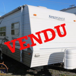 Springdale 247 FB 2004 LM Cossette inc. vr roulotte fifth wheel caravane rv travel trailer - cherokee grey wolf pup kodiak aspen trail arctic wolf alpha wolf cub apex nano