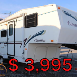 Citation 23 LG 1999 -LM Cossette inc. vr roulotte fifth wheel caravane rv travel trailer - cherokee grey wolf pup kodiak aspen trail arctic wolf alpha wolf cub apex nano roulotte a vendre trois-rivières-fond ancien