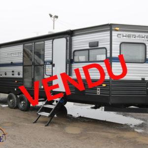 Cherokee 274 VFK 2019 LM Cossette inc. vr roulotte fifth wheel caravane rv travel trailer - cherokee grey wolf pup kodiak aspen trail arctic wolf alpha wolf cub apex nano