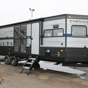 Cherokee 274 VFK 2019 - vr roulotte fifth wheel caravane rv travel trailer - grey wolf pup kodiak apex nano