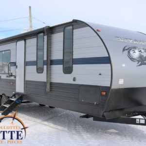 Cherokee 274 RK 2019 LM Cossette inc. vr roulotte fifth wheel caravane rv travel trailer - cherokee grey wolf pup kodiak aspen trail arctic wolf alpha wolf cub apex nano