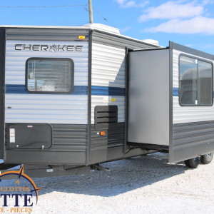 Cherokee 274 VFK 2019 - LM Cossette inc. vr roulotte fifth wheel caravane rv travel trailer - Cherokee grey wolf pup alpha wolf arctic wolf kodiak apex nano cub aspen trail