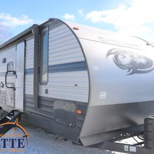 Cherokee 274 DBH 2019 - LM Cossette inc. vr roulotte fifth wheel caravane rv travel trailer - grey wolf pup alpha wolf arctic wolf kodiak apex nano cub aspen trail