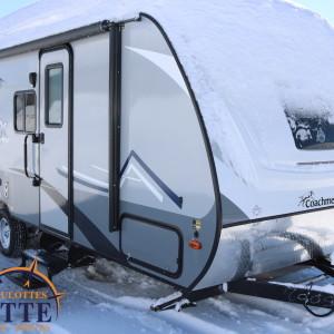 Apex Nano 208 BHS 2019 - LM Cossette inc. vr roulotte fifth wheel caravane rv travel trailer - cherokee grey wolf pup kodiak aspen trail arctic wolf alpha wolf cub apex nano
