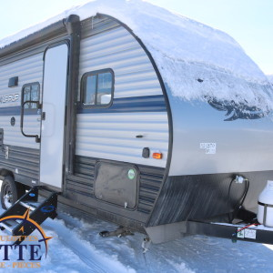 Wolf Pup 18 TO 2019 - LM Cossette inc. vr roulotte fifth wheel caravane rv travel trailer - cherokee grey wolf pup kodiak aspen trail arctic wolf alpha wolf cub apex nano