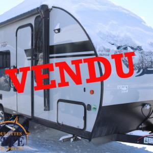 WOLF PUP 16 FQ (ÉDITION BLACK LABEL) 2019 - LM Cossette inc. vr roulotte fifth wheel caravane rv travel trailer - cherokee grey wolf pup kodiak aspen trail arctic wolf alpha wolf cub apex nano