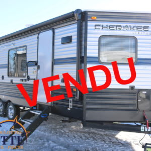 Cherokee 234 VFK 2019 - LM Cossette inc. vr roulotte fifth wheel caravane rv travel trailer - cherokee grey wolf pup kodiak aspen trail arctic wolf alpha wolf cub apex nano