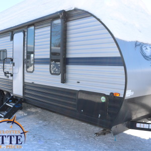 Grey Wolf 22 RR 2019 - LM Cossette inc. vr roulotte fifth wheel caravane rv travel trailer - cherokee grey wolf pup kodiak aspen trail arctic wolf alpha wolf cub apex nano-f