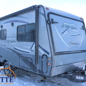 Apex Nano 15 X 2020 - LM Cossette inc. vr roulotte fifth wheel caravane rv travel trailer - cherokee grey wolf pup kodiak aspen trail arctic wolf alpha wolf cub apex nano