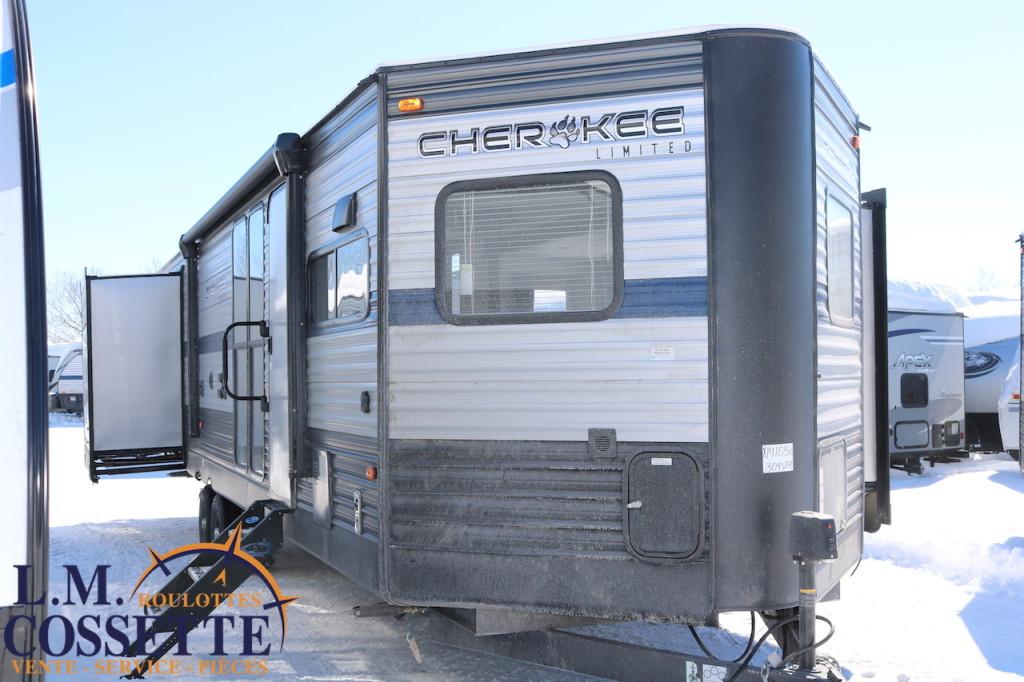 Cherokee 304 VFK 2019 - LM Cossette inc. vr roulotte fifth wheel caravane rv travel trailer - cherokee grey wolf pup kodiak aspen trail arctic wolf alpha wolf cub apex nano