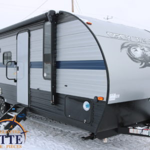 Grey Wolf 23 DBH 2019 - LM Cossette inc. vr roulotte fifth wheel caravane rv travel trailer - cherokee grey wolf pup kodiak aspen trail arctic wolf alpha wolf cub apex nano